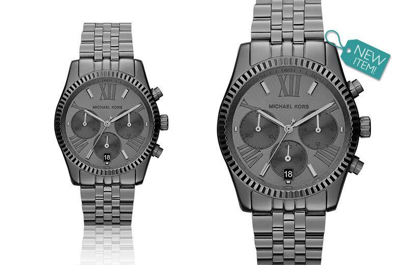 Ladies' Michael Kors Black Lexington MK5709 Watch