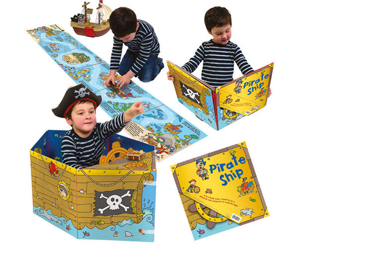£7.99 instead of £14 (from Miles Kelly Publishing Ltd) for a children's three-in-one convertible pop-up story book - choose from three fun options and save 43%