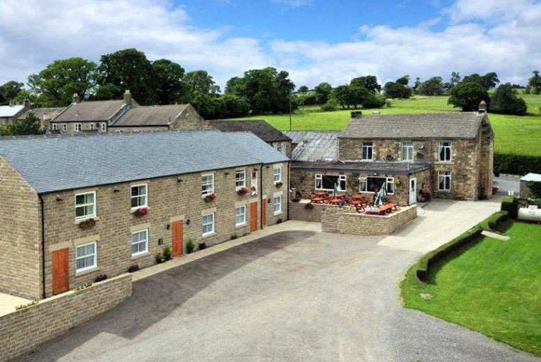 £79 (at The Black Swan) for an overnight North Yorkshire break for two including dinner, breakfast and a brewery tour, or £129 for two nights - save up to 49%