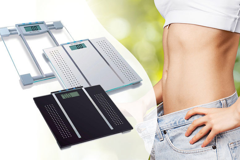 The Best Deal Guide - 7-in-1 Bathroom Scales - 3 Colours!