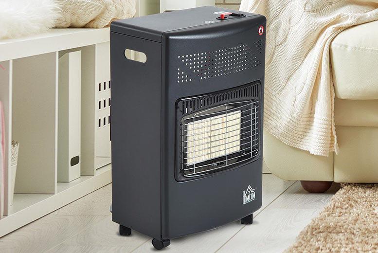 4200W HOMCOM Gas Heater for £59