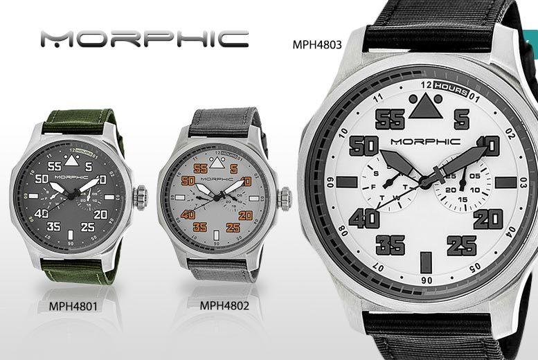 Men's Luxury Morphic M48 Series Watch - 5 Designs!