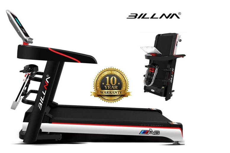 Foldable Electric Treadmill with Opt. Multi-Functional Attachments! from £199