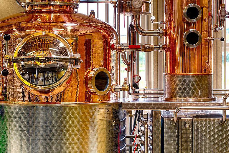 £9.95 instead of £20 for a gin and whiskey distillery tour for two including a tasting session at The Cotswolds Distillery, Stourton - save 50%