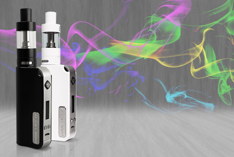 £39 instead of £77 (from GoHookah) for an INNOKIN Cool Fire IV Mod + isub G Clearomizer starter kit - choose black or white and save 49%