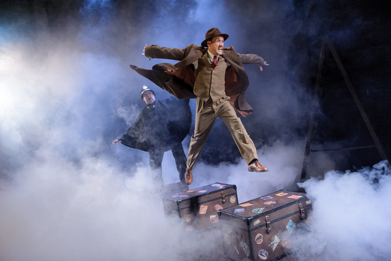 From £15 for a ticket to see the award-winning stage adaptation of 'The 39 Steps' at Grand Opera House York, from 14th-19th March - save up to 45%