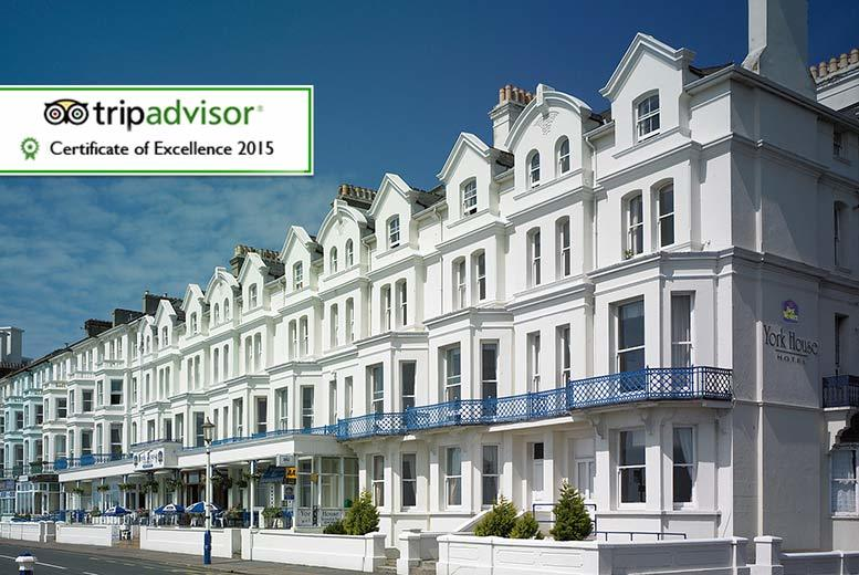 £59 (at York House Hotel) for an overnight Eastbourne stay for two including breakfast and late checkout, £79 with dinner or from £99 for two nights - save up to 33%