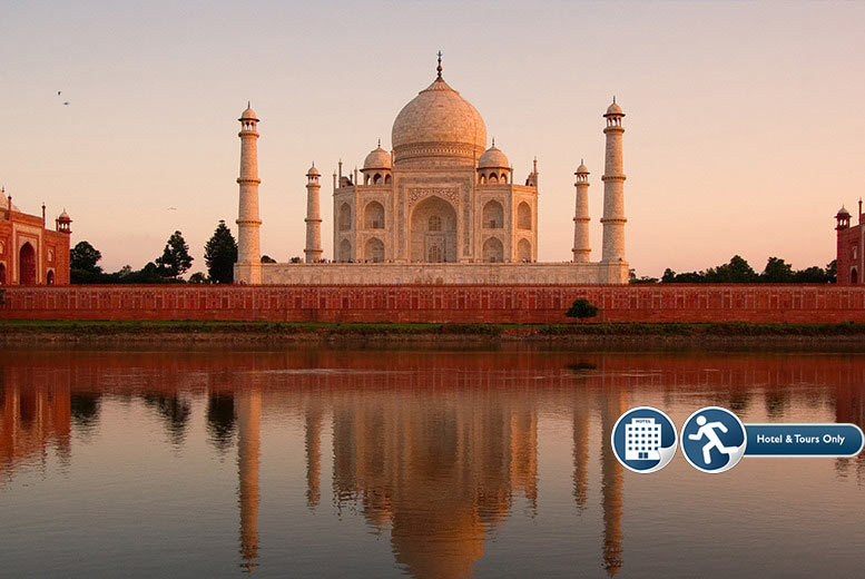 From £299pp (from GeTS Holidays) for an eight-day India tour including accommodation, transfers, breakfast and excursions with an English-speaking guide - save up to 57%