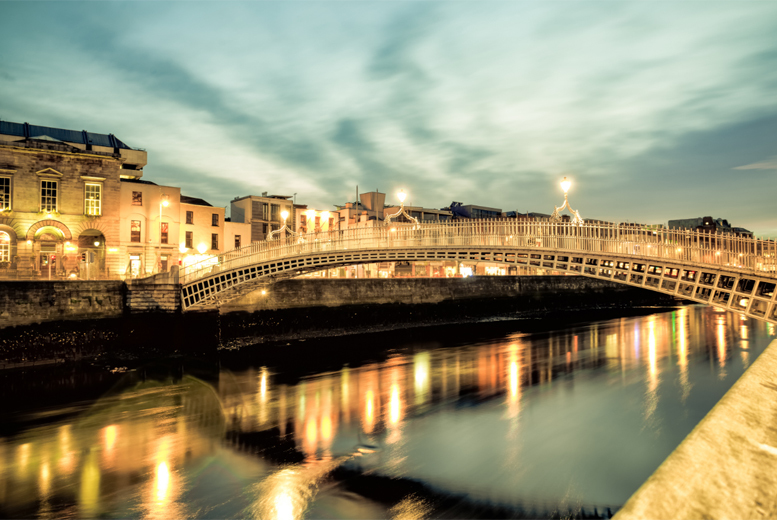 From £69pp instead of £90.05pp (from Tour Center) for a two-night Dublin spa break including return flights from one of ten airports - save up to 23%