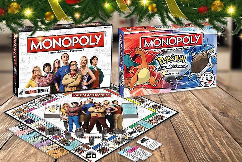 The Best Deal Guide - Themed Monopoly Games - The Walking Dead, Big Bang Theory and More!