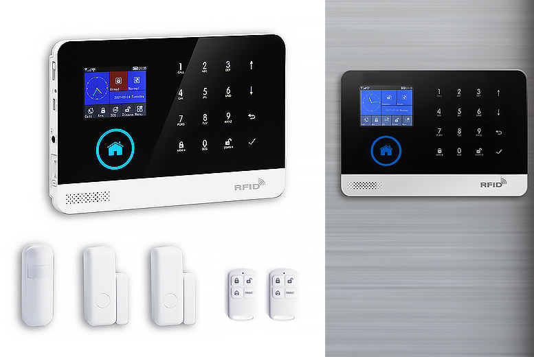 App-Controlled Smart WiFi Alarm System for £79