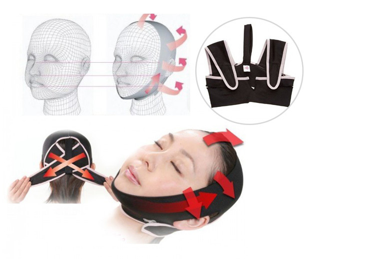 £9.99 (from Cocobury) for a 3D 'face slimming, shaping and anti-wrinkle' belt - save 55%