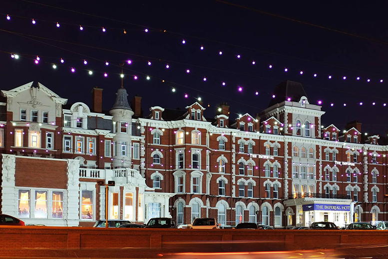 £39 for a spa day for two with a treatment and a glass of Prosecco each at The Imperial Hotel, Blackpool, £99 to include an overnight stay with breakfast - save up to 68%