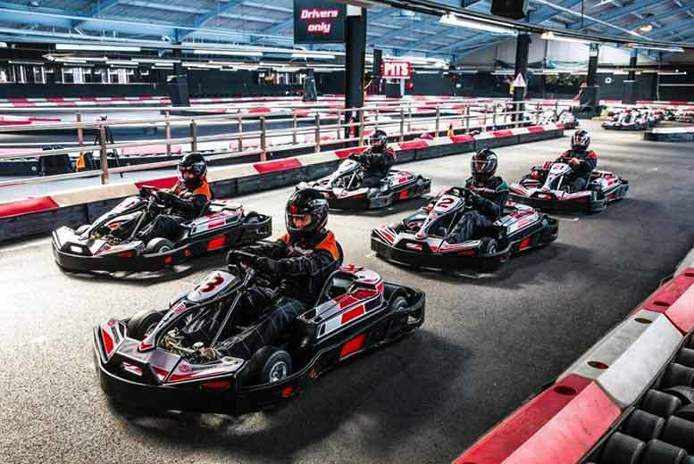 £44 instead of up to £99 for 50 laps of indoor go karting for two with Activity Superstore - choose from over 10 locations and save 56%