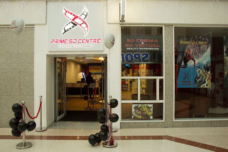 £5 for a 5D simulator experience for two at the Prime 5D Centre, Stratford - save 50%