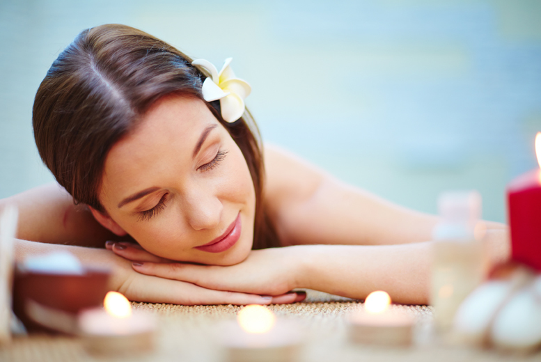 £18 for a two-hour pamper package with a massage, facial, body scrub and mani or pedi, plus a glass of bubbly at Out of Essex, Cheshunt - save up to 84%