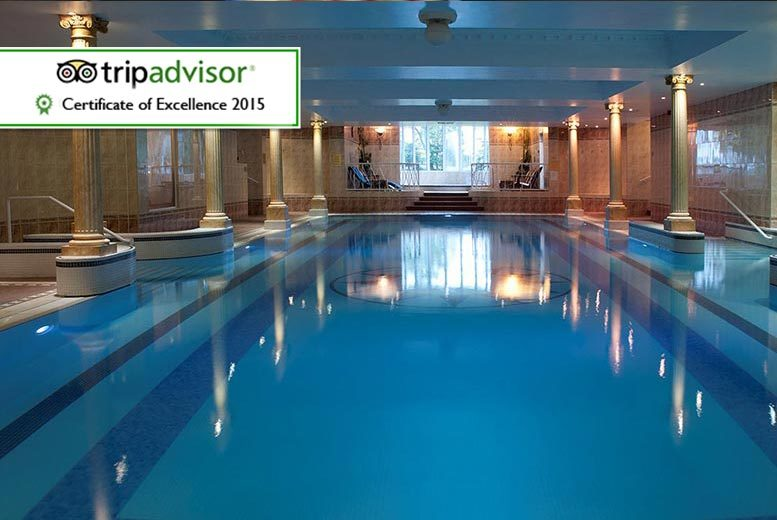 £79 for an overnight spa break for two with use of the Fire & Spa facilities and breakfast, £158 for a two-night break at Thornton Hall Hotel and Spa - save up to 47%