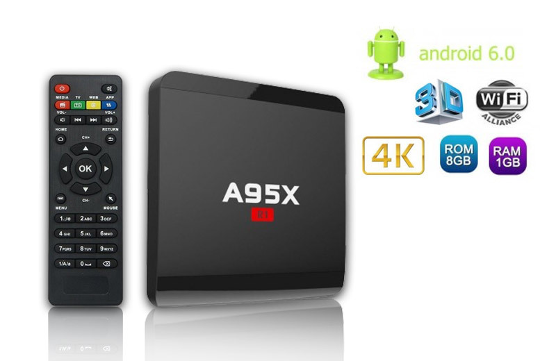 R1 Smart 4K Android Box for £32