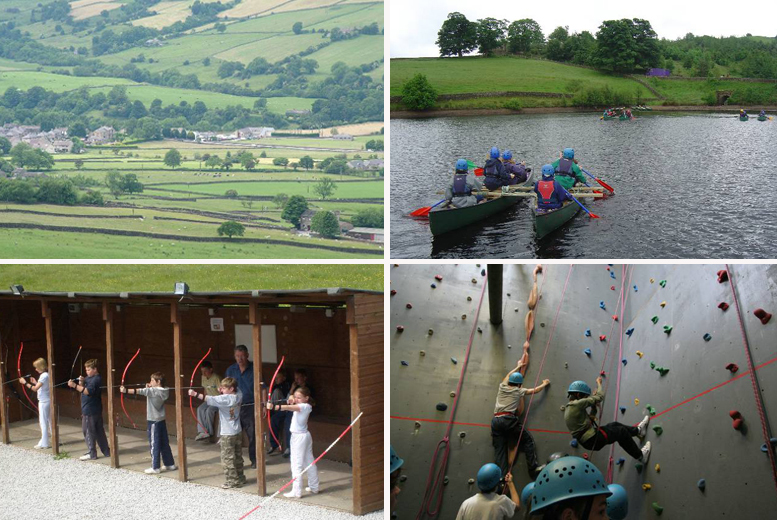£299 instead of £499 for a seven-day residential summer camp for one child at High Adventure Outdoor Education Centre, Cowling - save 40%