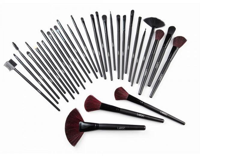 32pc Makeup Brush Set for £12