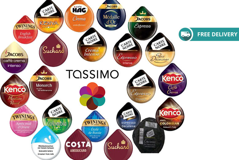 23 Tassimo Variety T-Discs – Assorted Flavours! for £9.99