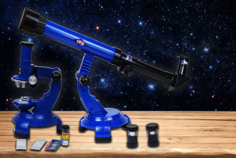 Educational Telescope & Microscope Science Toy for £19