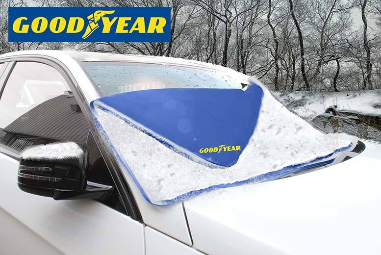 Goodyear Frost-Free Magnetic Windscreen Cover for £6.99