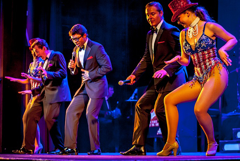 £10 instead of up to £19.90 for a Band C ticket to the Rat Pack Vegas Spectacular show with ATG Tickets - save 50%