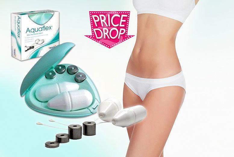 £16 instead of £49.99 for a set of Aquaflex pelvic floor exercise cones - save 68%