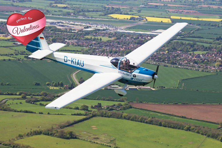 £99 instead of £279 for a 20-minute romantic flight or £129 for 30 minutes at Long Marston Airfield, Stratford-Upon-Avon - save up to 65%