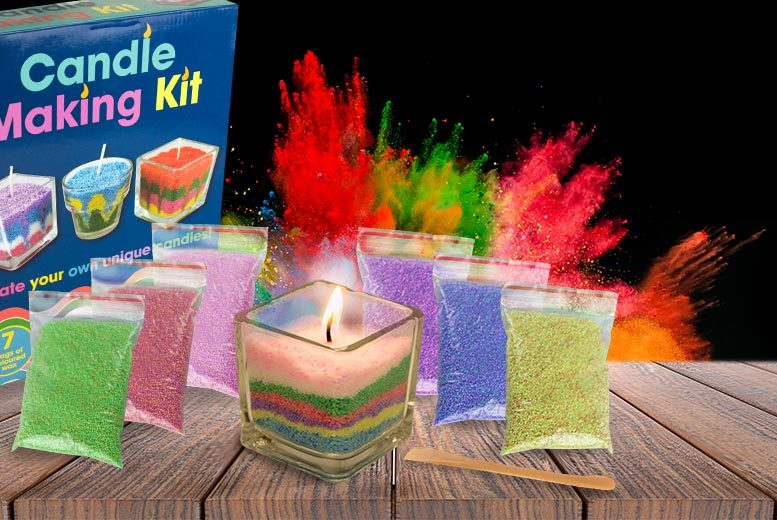 £7 instead of £19.99 for a candle making kit from Funky Monkey Gift Shop - save up to 65%