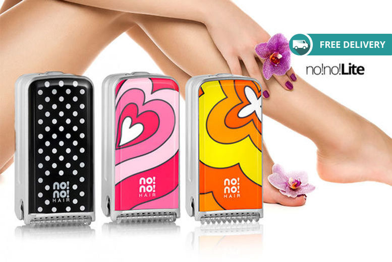 no!no! Lite or 8800 Hair Removal System – Delivery Included! from £69
