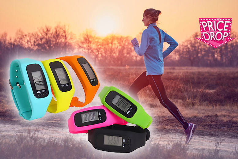 4-in-1 Fitness Tracker – 6 Colours! for £5.99