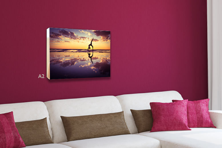 £9 instead of £44.99 (from Your Perfect Canvas) for an A2 personalised canvas, £10 for an A1 canvas - save up to a picture-perfect 80%