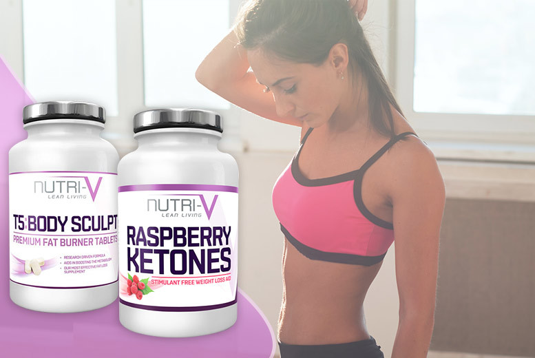 £9 instead of £45 for a one-month supply* of raspberry ketone and T5 'Fat Burner' tablets - save 80%