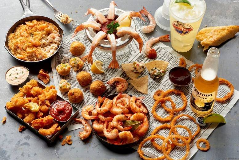 £11.50 instead of up to £20.90 for a starter and main from a set pre-theatre menu at Bubba Gump Shrimp Co., Piccadilly Circus - save up to 45%