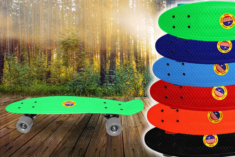 £9.99 instead of £39.99 (from Toy Loco) for a retro penny-style skateboard - save 75%