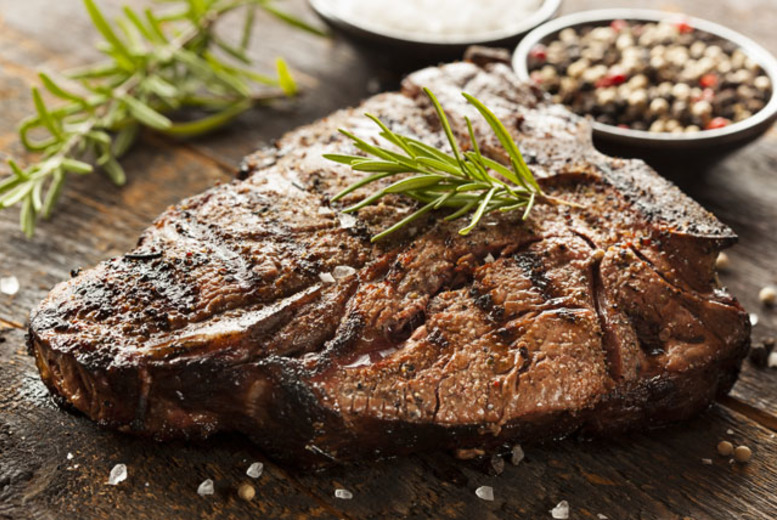 £29.95 instead of up to £68 for a succulent steak meal and a bottle of wine for two people at Doubletree by Hilton London Docklands - save up to 56%