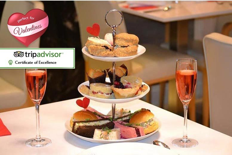 £29 instead of up to £70 for a chocolate afternoon tea for two including a glass of rosé Champagne each at 4* Park Grand Lancaster Gate - save up to 59%