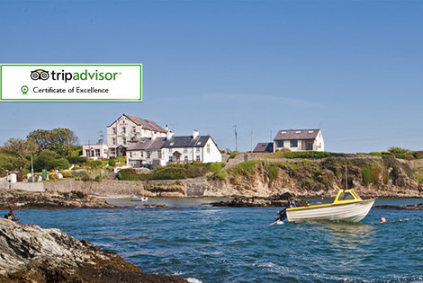 £79 (at Bull Bay Hotel) for a two-night Anglesey stay for two people including dinner and breakfast, £99 for three nights - save up to 63%