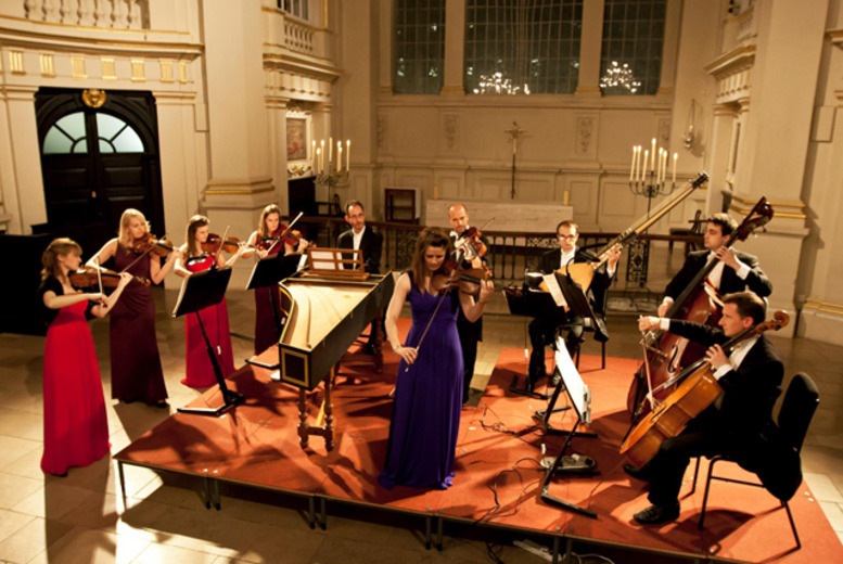 From £12.50 for a ticket to Vivaldi: Violin Concertos by candlelight at St Martin-in-the-Fields by the London Concertante, plus a CD single and programme - save up to 68%