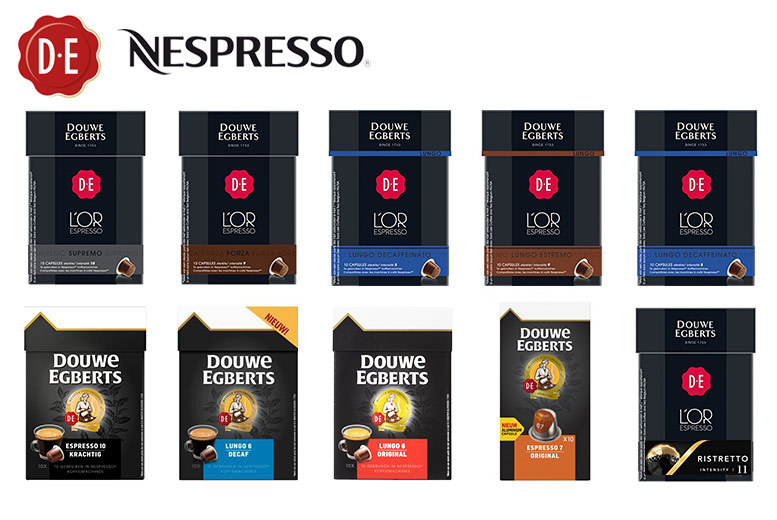 50 Pods of Douwe Egberts Nespresso-Compatible Capsules for £9.99