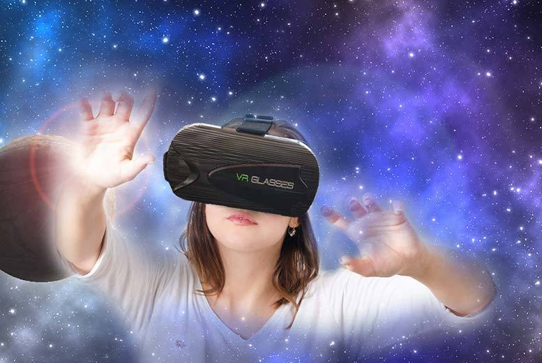 Cinematic Virtual Reality Headset – for iPhone & Android for £12
