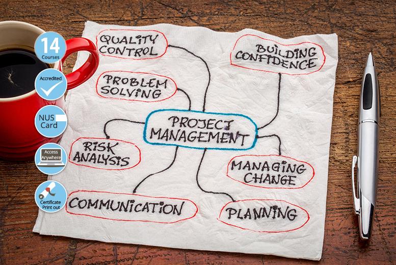 Project Management Master Bundle - 14 Courses!