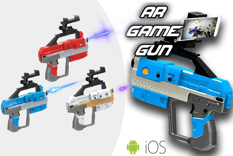 Augmented Reality Toy Gun – 3 Colours! for £22