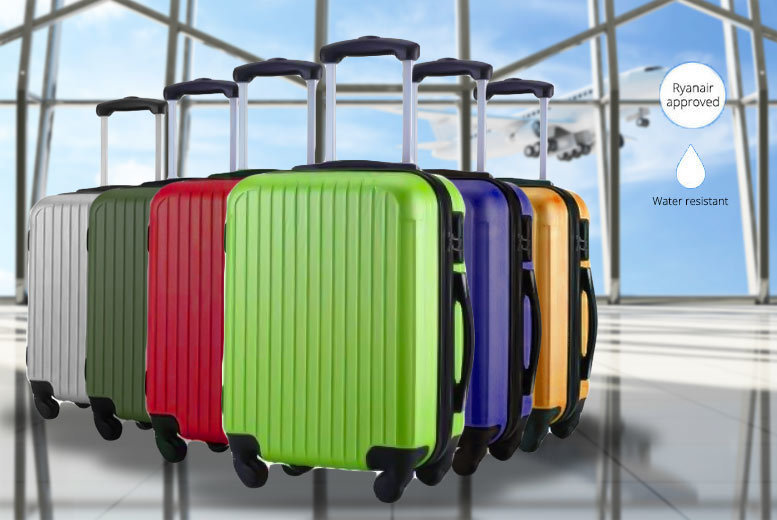 Dulong Cabin Luggage Suitcase – 6 Colours! for £19