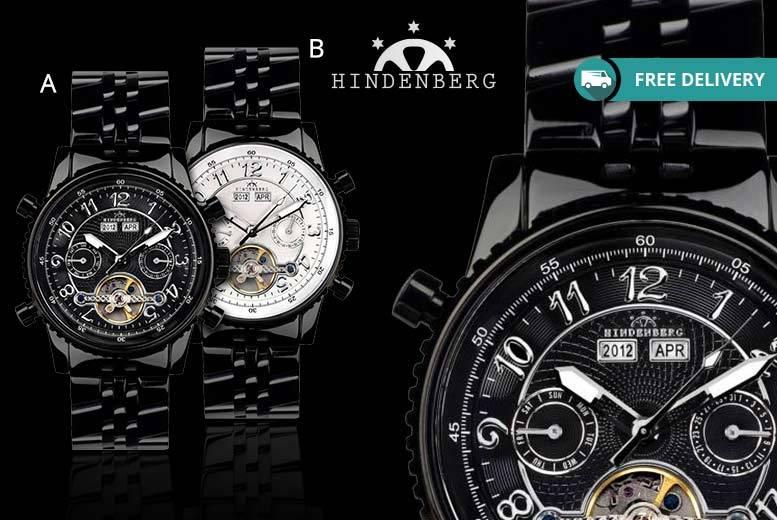 Hindenberg 230-H Watch - 2 Designs!
