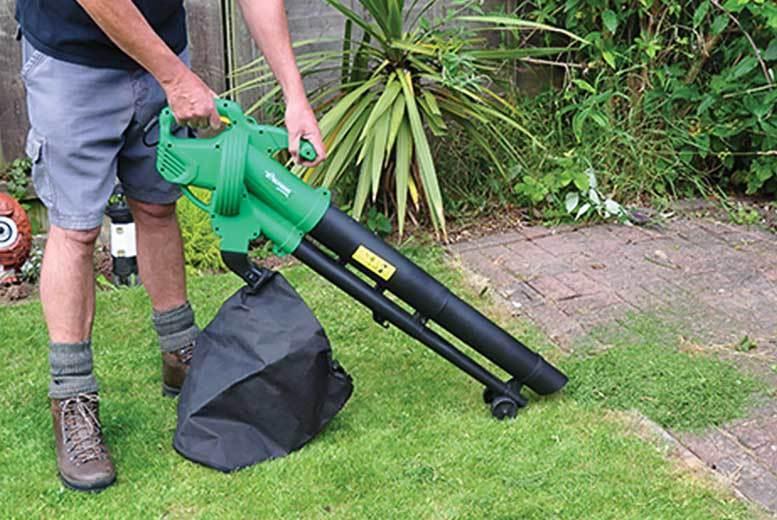 6-in-1 Garden Leaf Blower for £29