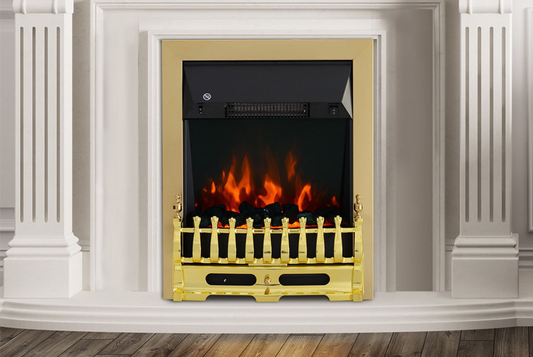Built-in LED Flame Fireplace from £39