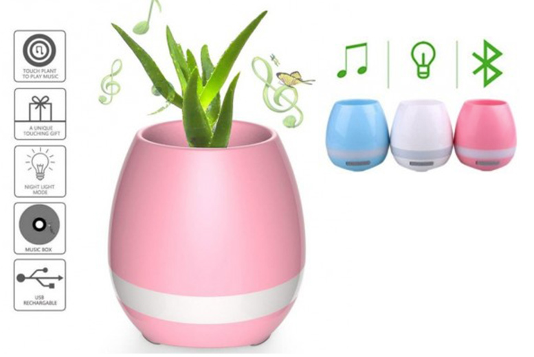 Magic Smart Playing Flower Pot- 3 Colours! for £8.99